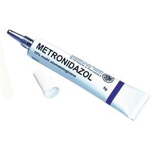 Metronidazol maść stomat. 10% 5g