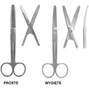 Nożyczki chirurgiczne tępo-tępe 20cm