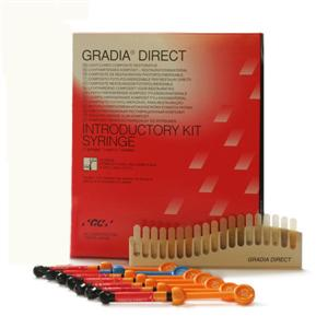 Gradia DIRECT Introductory Kit 7 x 2,7ml GC