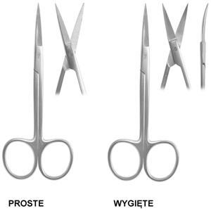 Nożyczki chirurgiczne do dziąseł IRIS 11,5cm